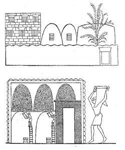 Egyptiskt kornlager, mjölor